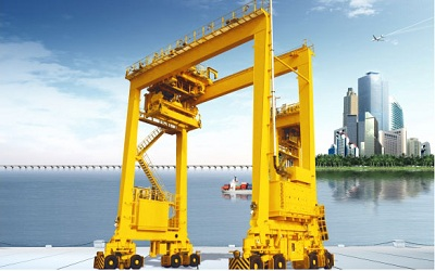 Rubber-tyred Container Gantry Crane