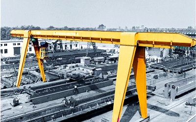 <b>Electric Hoist Gantry Crane</b>