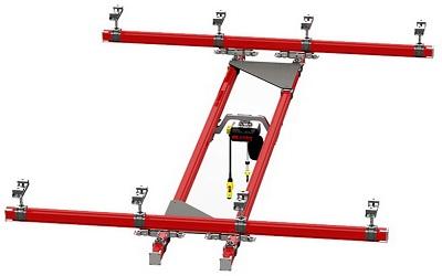 Flexible Light type Crane System