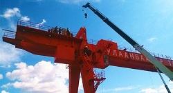 Gantry Crane - Mongolia
