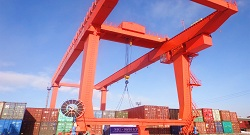 Container Gantry Crane - Russia & Mongolia
