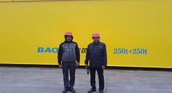 India Customer Visit Weihua Cranes