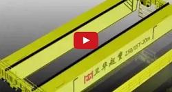 250T/15T Overhead Crane Video