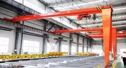 Electric Hoist Semi-Gantry Crane | Weihua Cranes