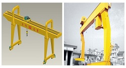 L-type Gantry Crane and A-type Gantry Crane Difference