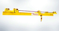 Light duty single girder overhead crane