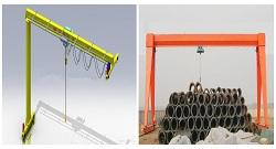 Lightweight Electric Hoist Gantry Crane | Weihua Cranes
