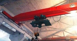 Metal Shop Single Girder Overhead Crane | Weihua Cranes