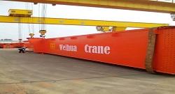Gantry Crane Delivery | Weihua Cranes