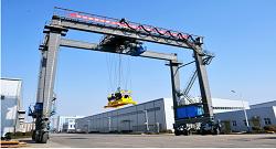 Rubber-tyred Container Gantry Crane (RTG) to Kazakhstan
