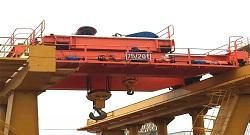 75 ton - 20 ton Mining Overhead Crane Acceptance Inspection