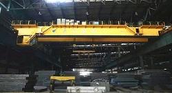 Steel Mill Double Girder Cranes in Tangshan Iron & Steel