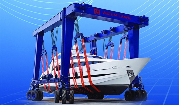 Material Handling Crane Forward Repair System : Marine hoist overhead crane gantry