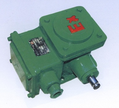 Explosion-proof control box