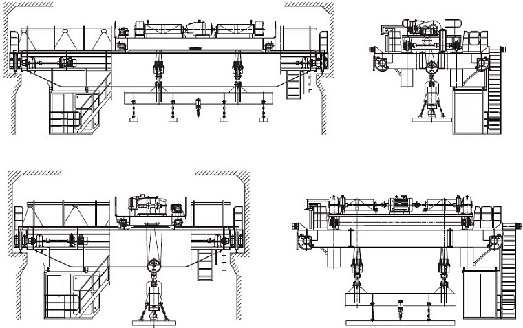 carrier beam electromagnetic crane_carrier beam simple electromagnetic crane diagram electromagnetism images, stock photos