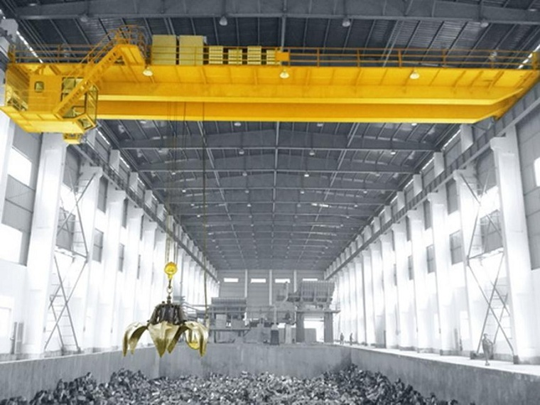 Double Girder Grab Crane
