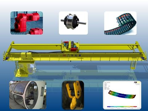 European Crane Selection of high-quality components