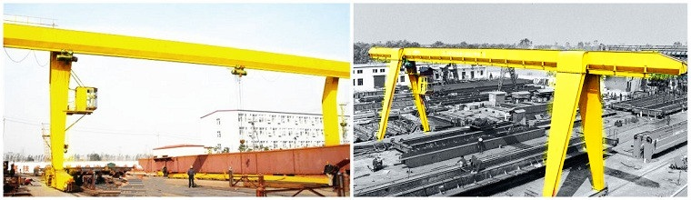 L-type Electric Hoist Gantry Crane and A-type Electric Hoist Gantry Crane