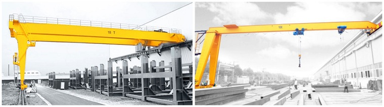 Semi-Gantry Crane