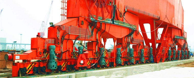 Shipbuilding Gantry Crane Traveling Mechanism