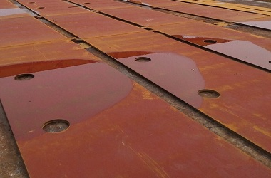 All steel plates using CNC cutting