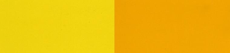 light yellow and medium yellow