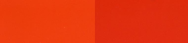 orange-yellow and orange-red
