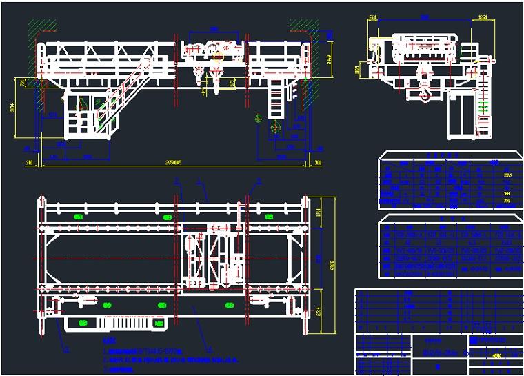 EOT crane specification