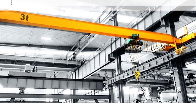Used single girder overhead crane
